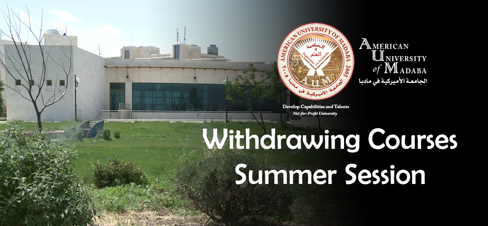 Withdrawing Courses - Summer Session