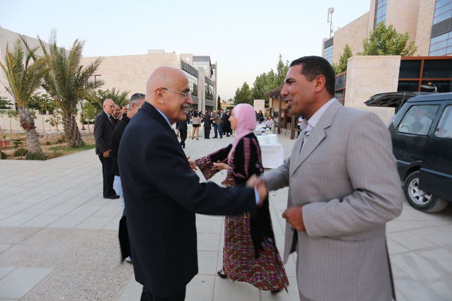 The American University of Madaba holds its annual Iftar