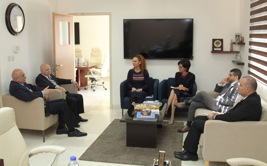 HE the French Ambassador visited AUM Campus