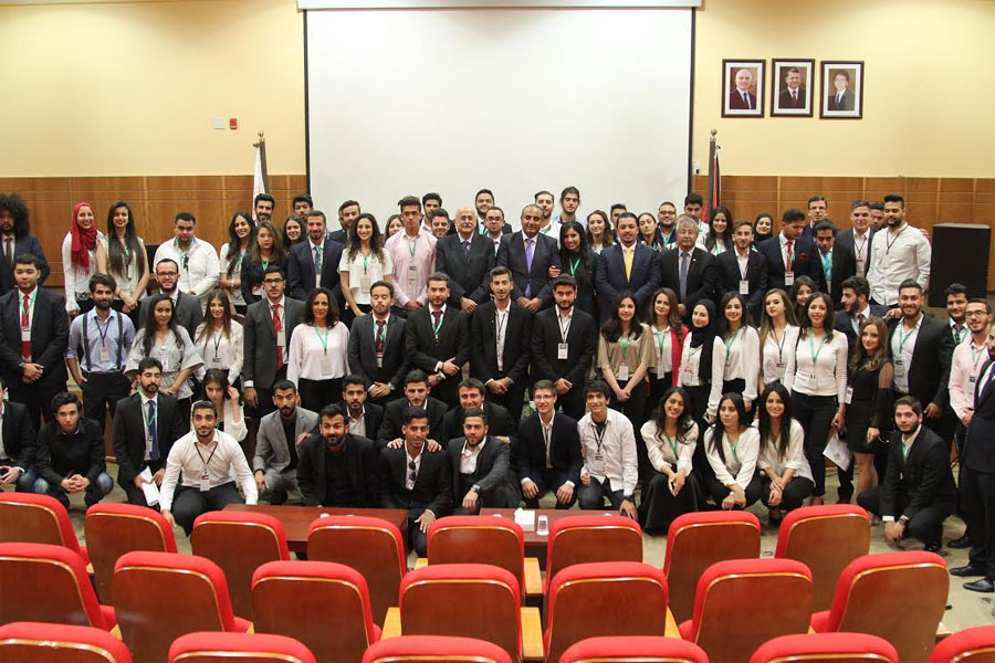 AUM held its first Model United Nations' Conference