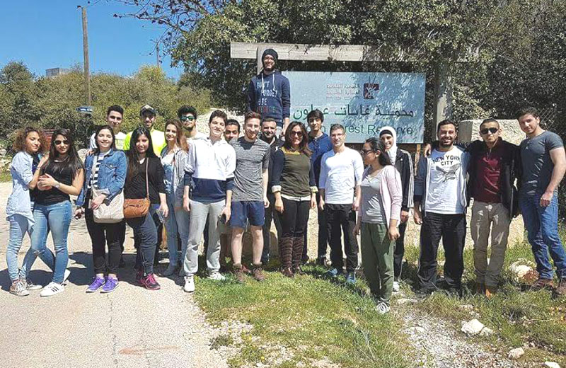 Deanship of student affairs organizes trip to Ajloun Reserve