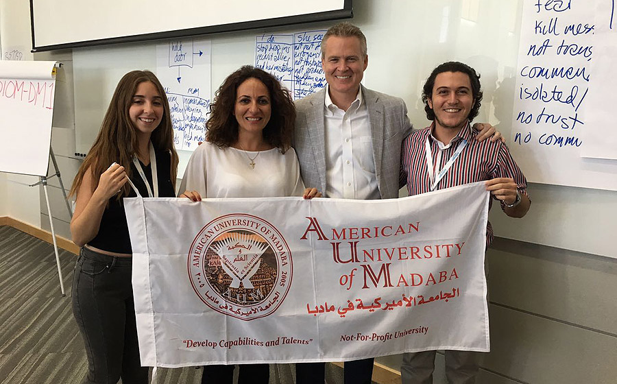 AUM faculty and students complete Arbinger training course