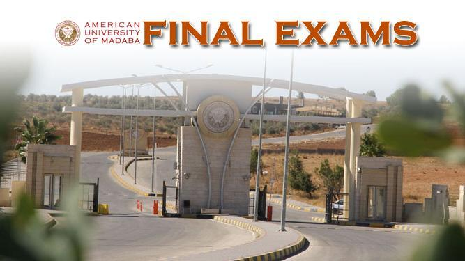Final Exams Summer Session  2019-2020